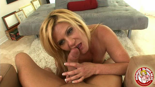 Ginger Lynn swallows cock