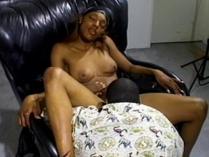 The black guy likes to lick a cunt