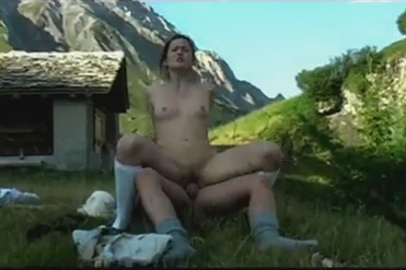 Beautiful landscape and sex